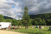 camping à saillans