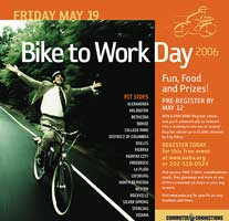 affiche bike to work day